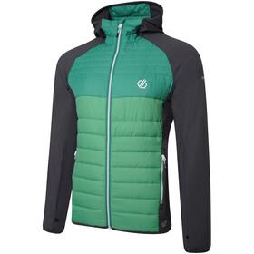 Dare 2b Coordinate Giacca ibrida in lana Uomo, grigio/verde